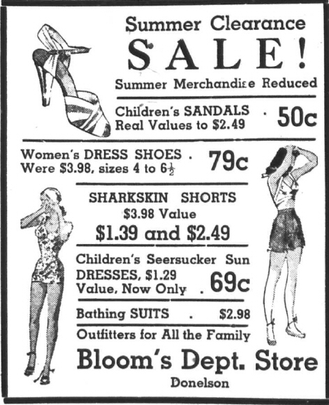 Bloom's Dept. Store