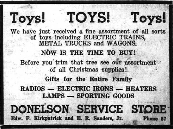 Donelson Service Store - Toys